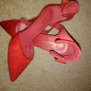 Breckelles red heels (10)